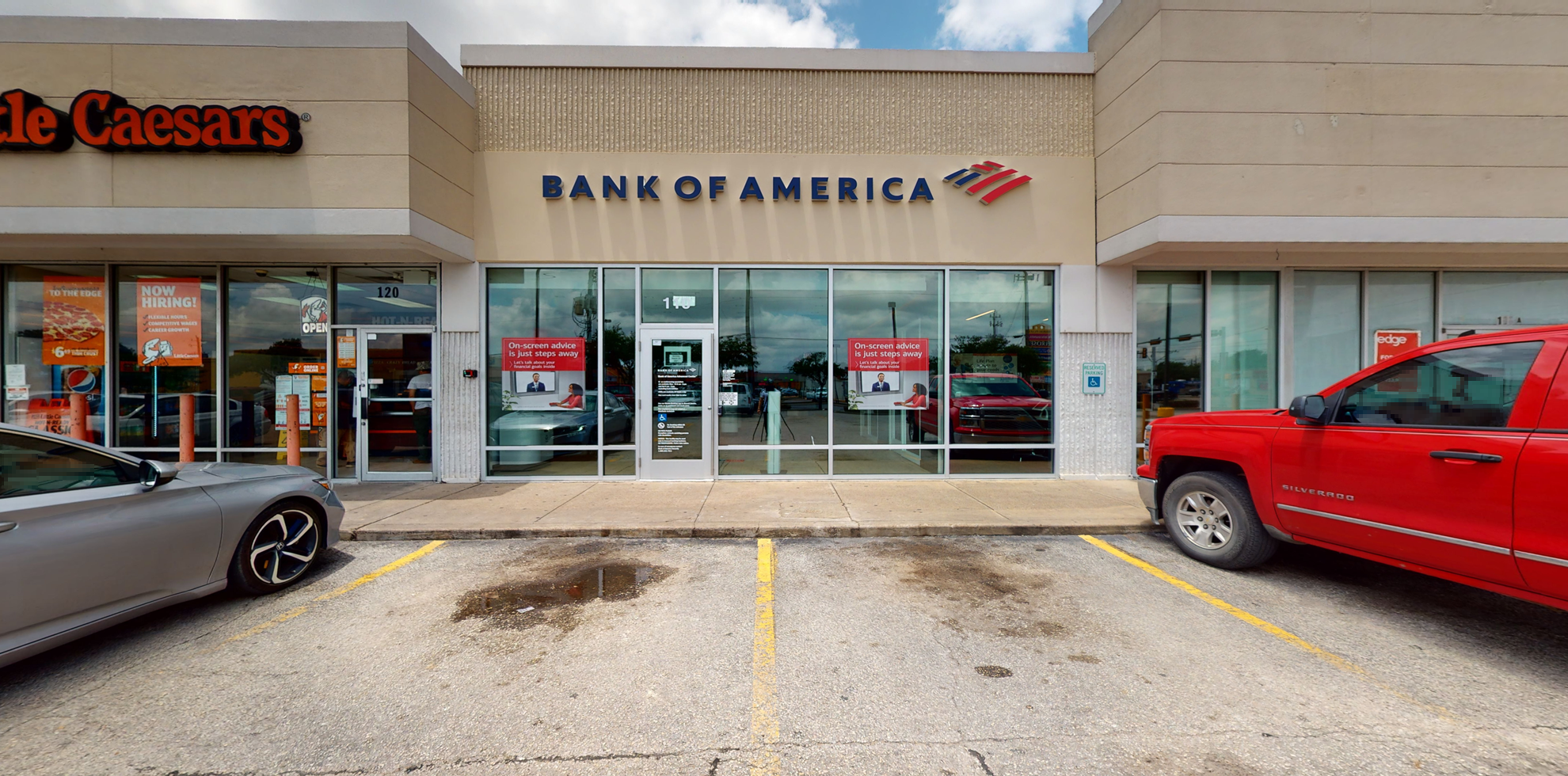 Bank of America Advanced Center with walk-up ATM | 110 S Wayside Dr, Houston, TX 77011