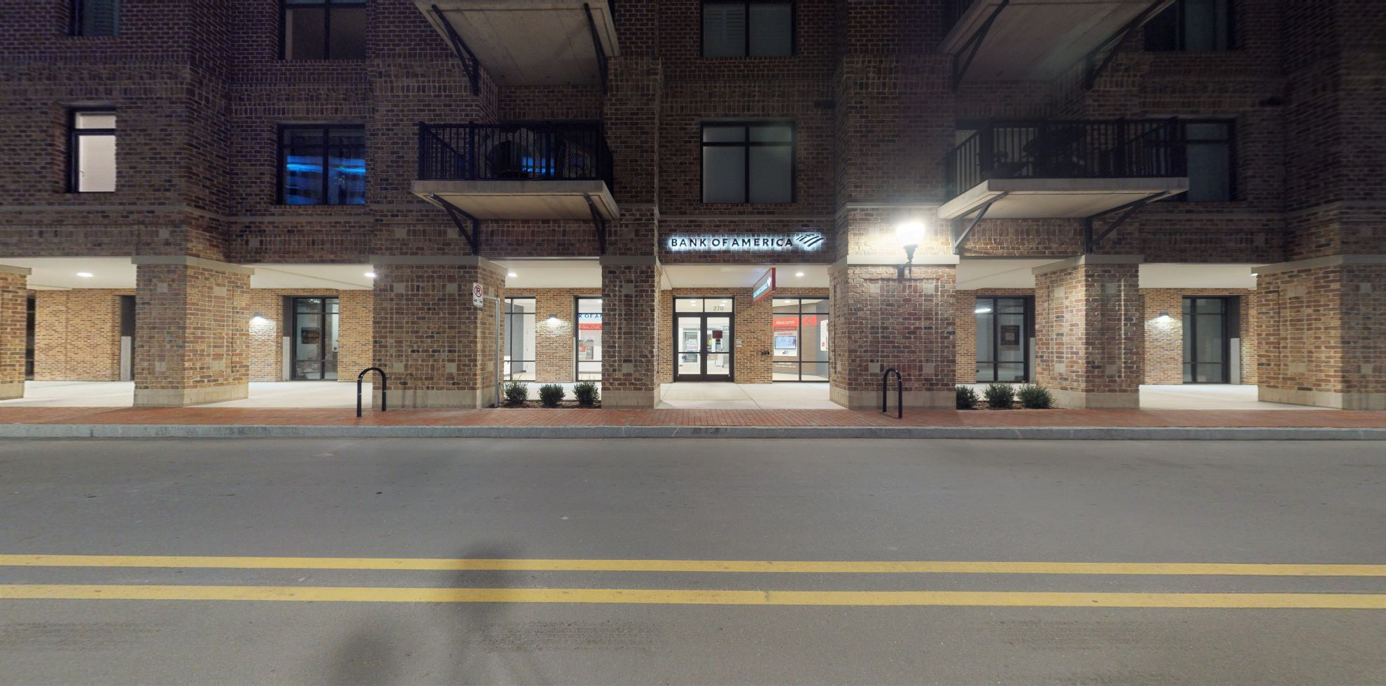 Bank of America Advanced Center with walk-up ATM   270 N Water St, Wilmington, NC 28401