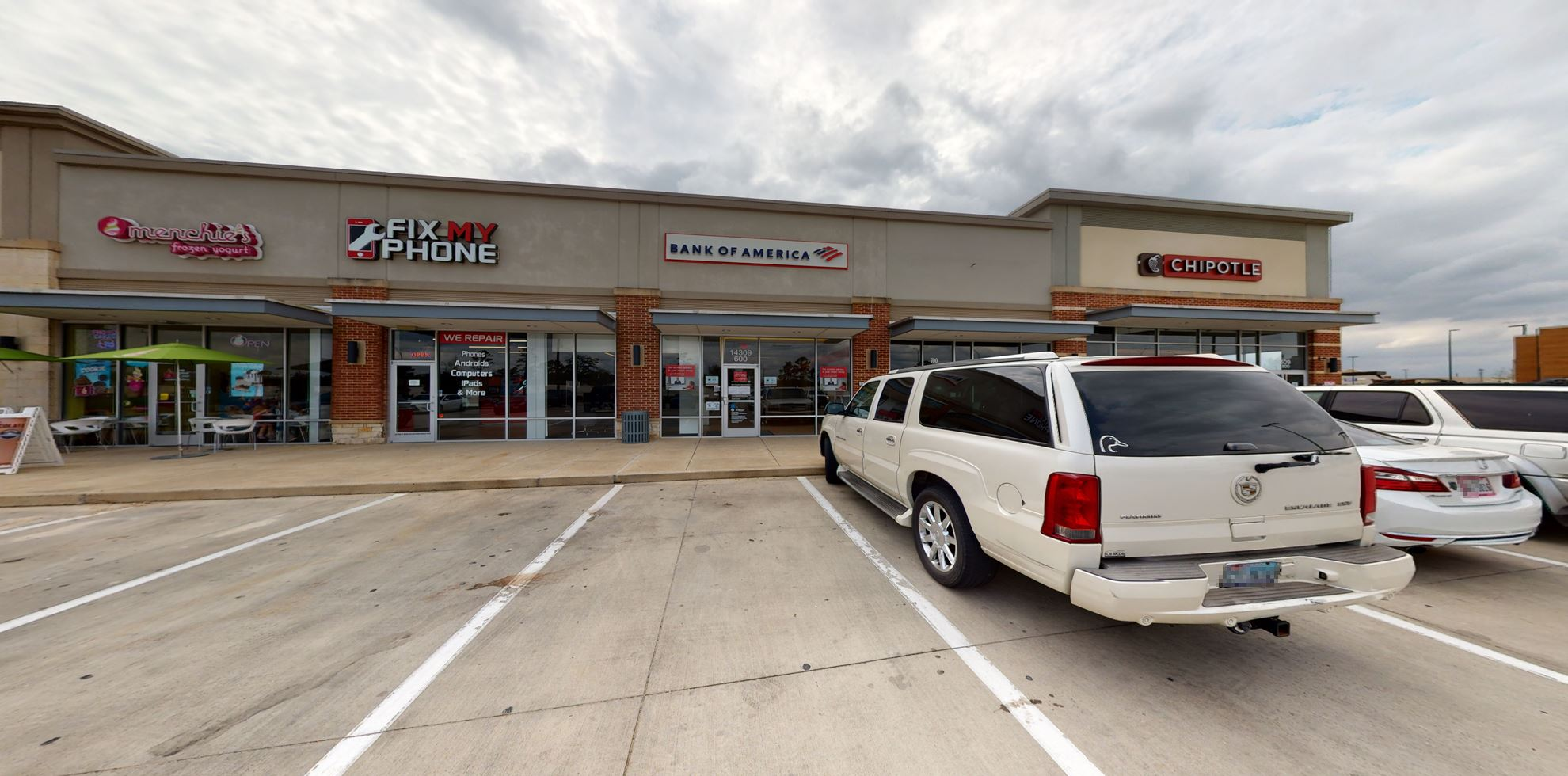 Bank of America Advanced Center with walk-up ATM   14309 E Sam Houston Pkwy N, Houston, TX 77044