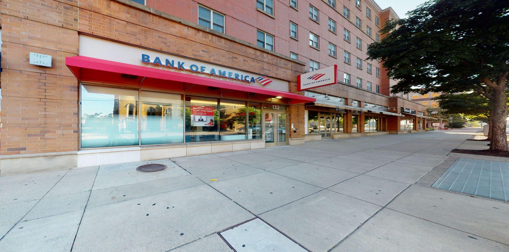 Bank of America Advanced Center with walk-up ATM   132 Calhoun St, Cincinnati, OH 45219