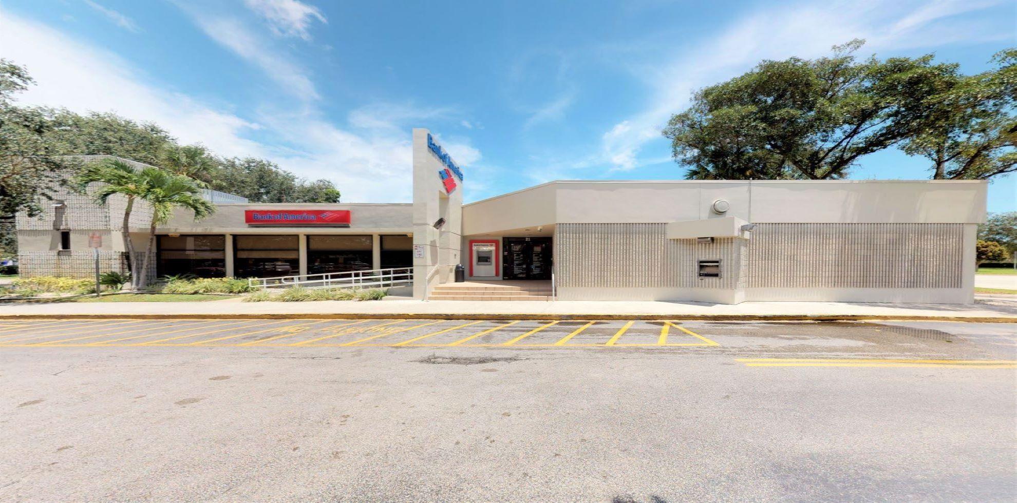 Bank of America financial center with drive-thru ATM   21 S Pompano Pkwy, Pompano Beach, FL 33069