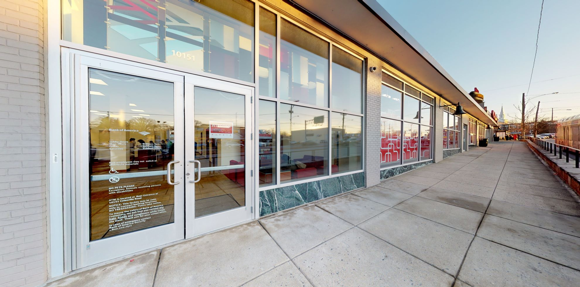 Bank of America financial center with walk-up ATM | 10151 Colesville Rd, Silver Spring, MD 20901