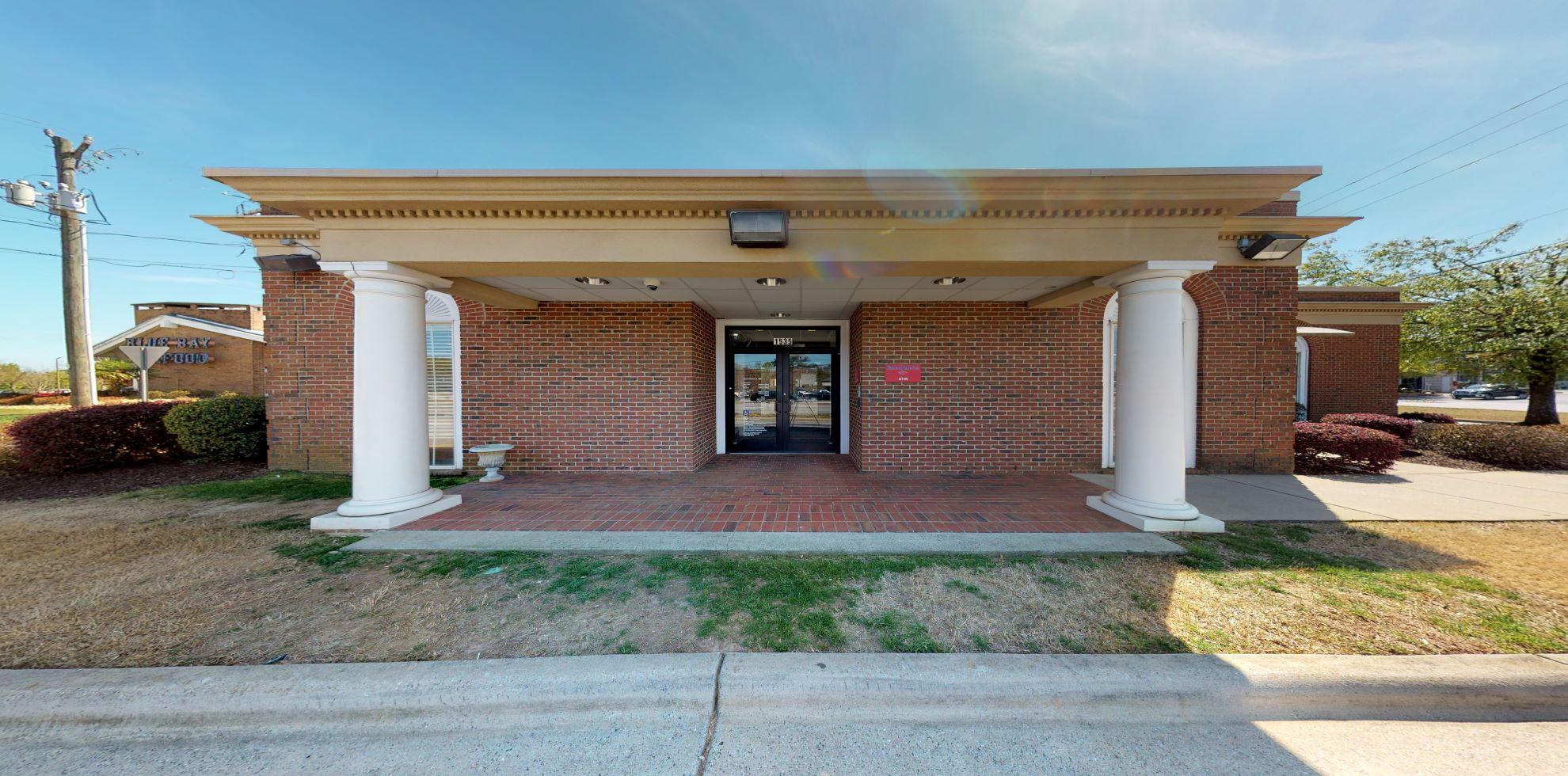 Bank of America financial center with drive-thru ATM and teller   1535 John B White Sr Blvd, Spartanburg, SC 29301