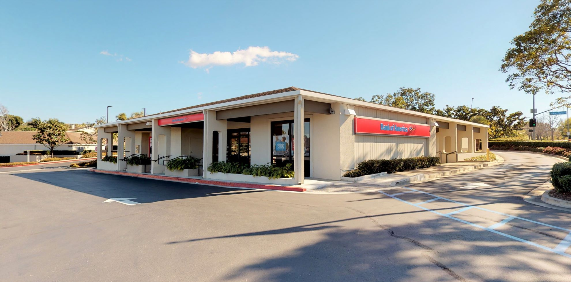 Bank of America financial center with drive-thru ATM | 2600 San Miguel Dr, Newport Beach, CA 92660