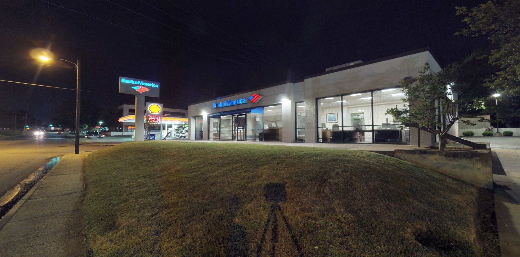 Bank of America financial center with drive-thru ATM   4024 W Markham St, Little Rock, AR 72205