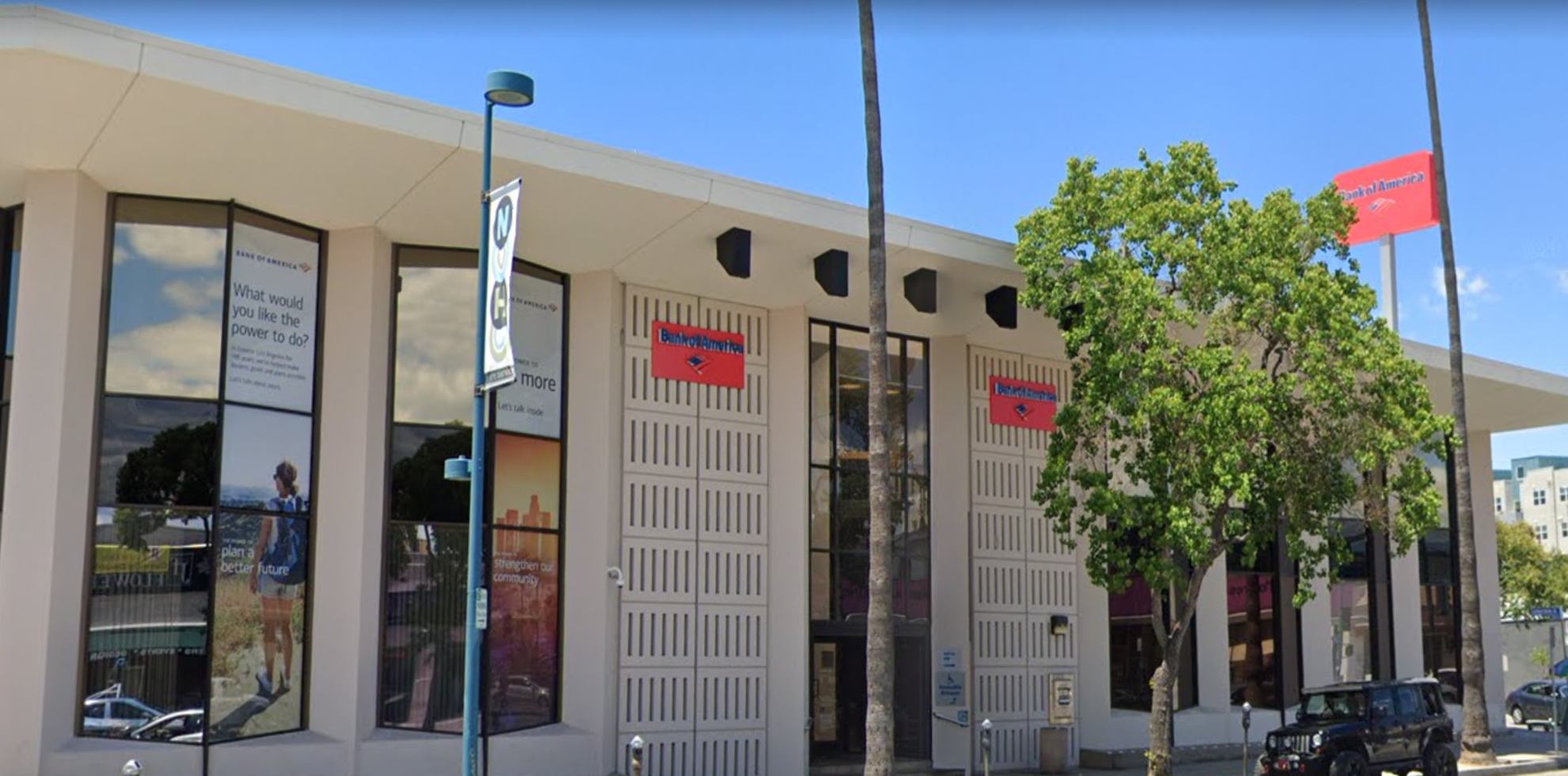 Bank of America financial center with drive-thru ATM | 5025 Lankershim Blvd, North Hollywood, CA 91601