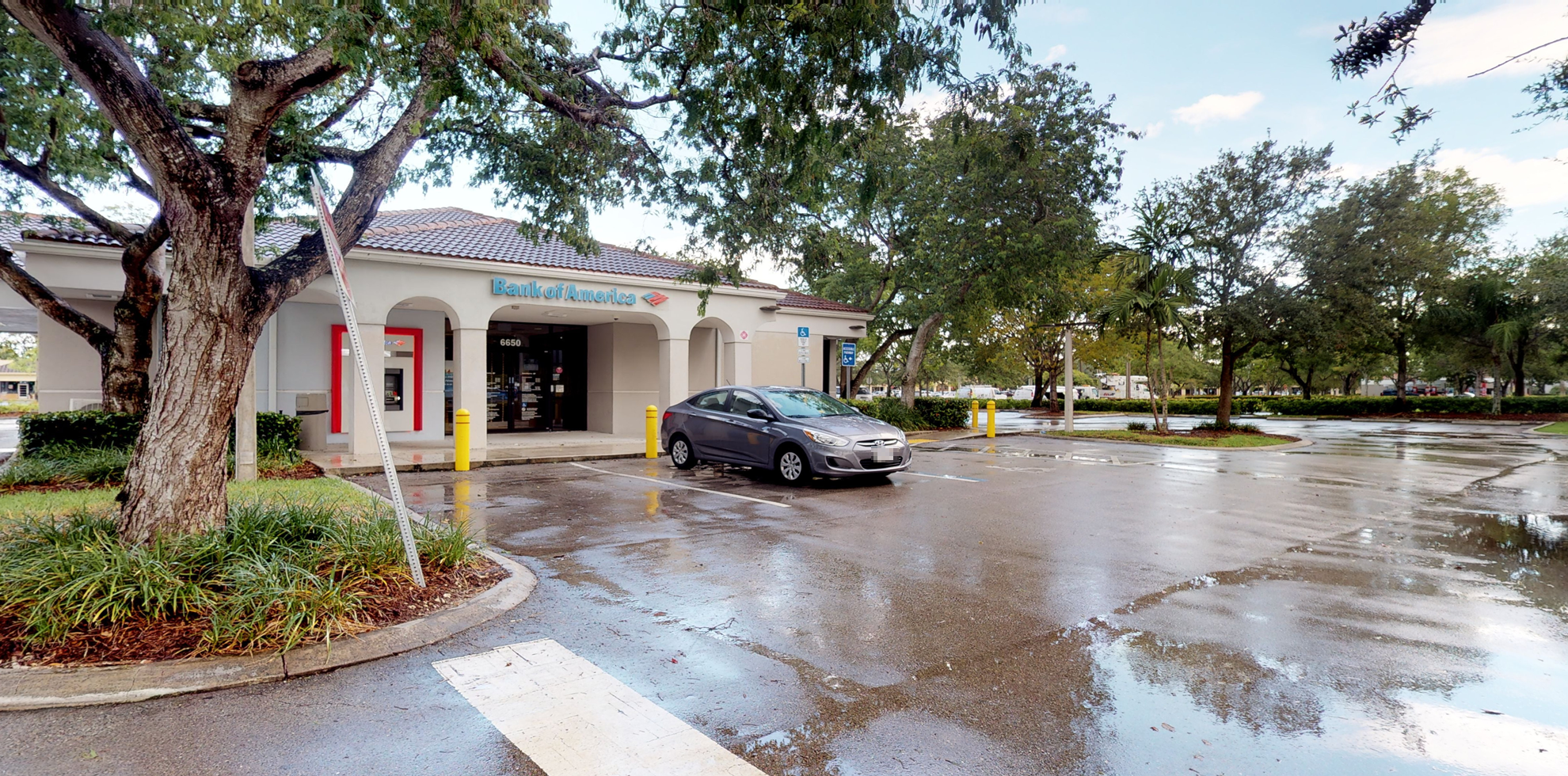 Bank of America financial center with drive-thru ATM   6650 N State Road 7, Coconut Creek, FL 33073