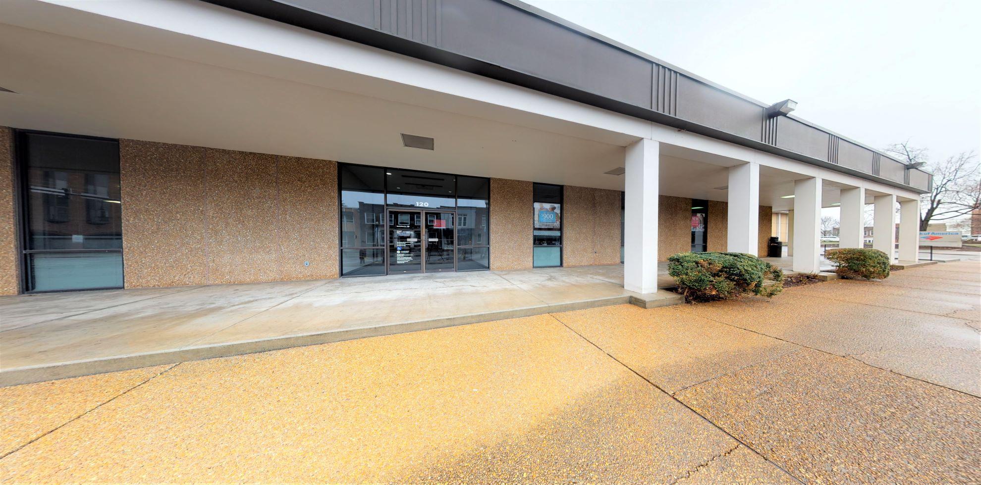 Bank of America financial center with walk-up ATM   120 E Main St, Murfreesboro, TN 37130