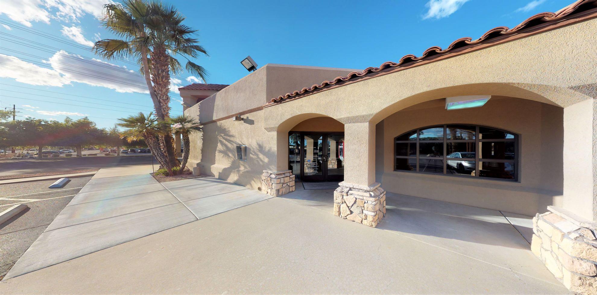 Bank of America financial center with drive-thru ATM | 9602 E Riggs Rd, Sun Lakes, AZ 85248