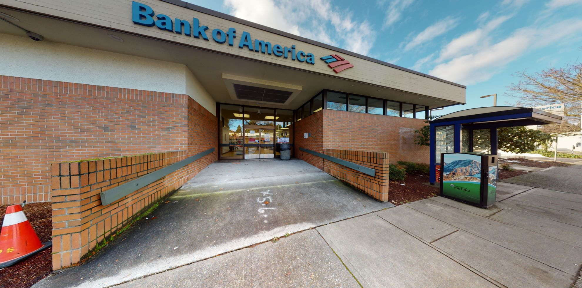 Bank of America financial center with drive-thru ATM   8405 35th Ave NE, Seattle, WA 98115