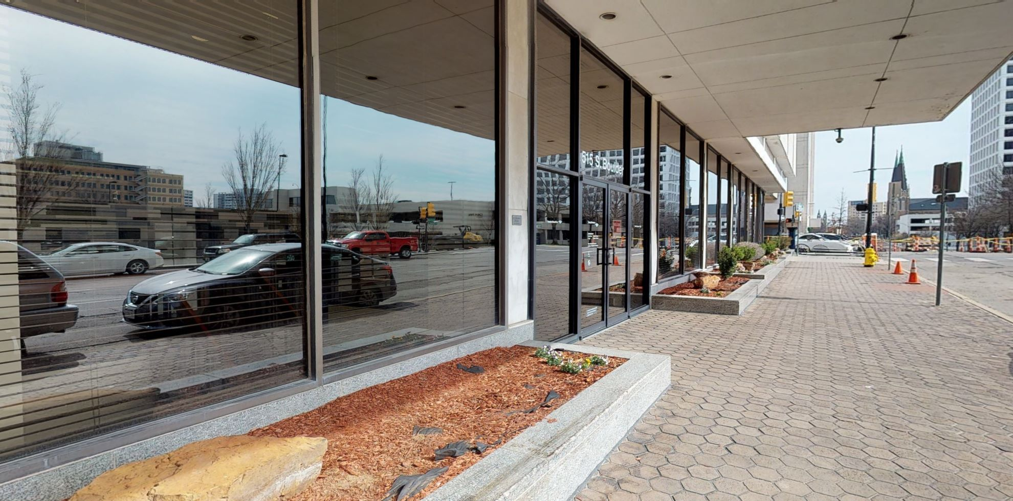 Bank of America financial center with walk-up ATM | 515 S Boulder Ave, Tulsa, OK 74103