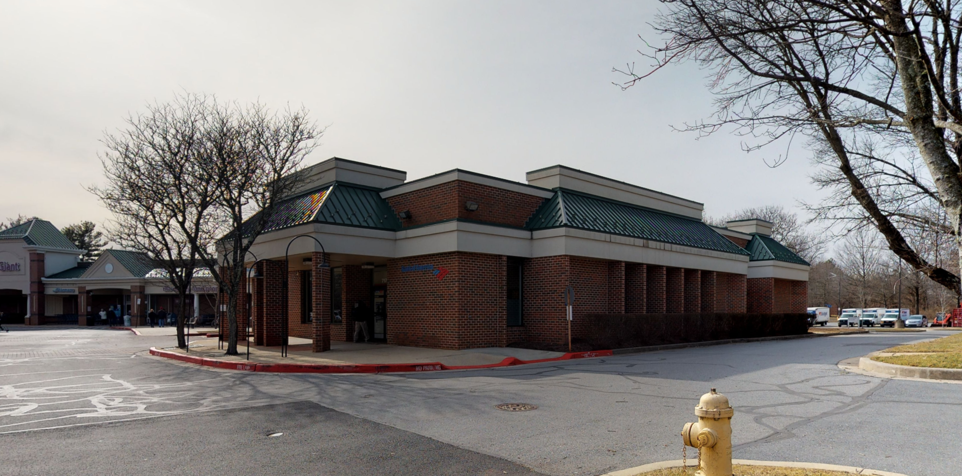 Bank of America financial center with drive-thru ATM and teller   7170 Cradlerock Way, Columbia, MD 21045