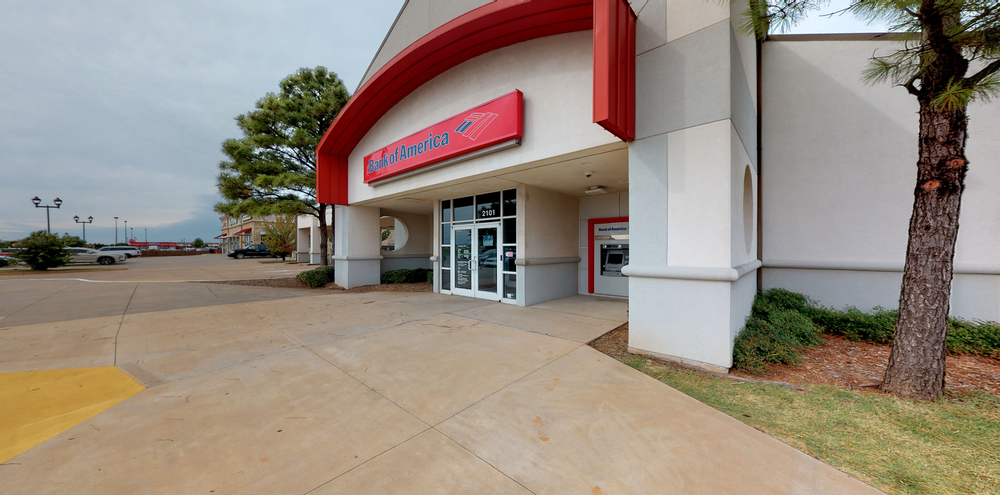 Bank of America financial center with drive-thru ATM and teller   2101 W Memorial Rd, Oklahoma City, OK 73134