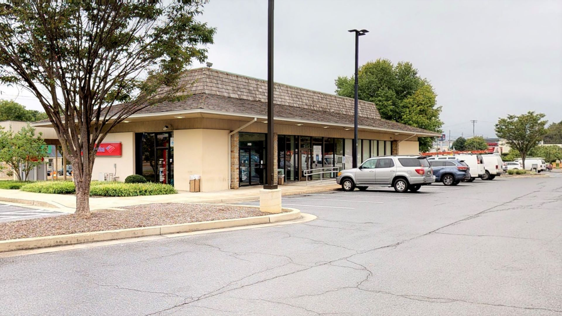 Bank of America financial center with drive-thru ATM | 2425 York Rd, Timonium, MD 21093