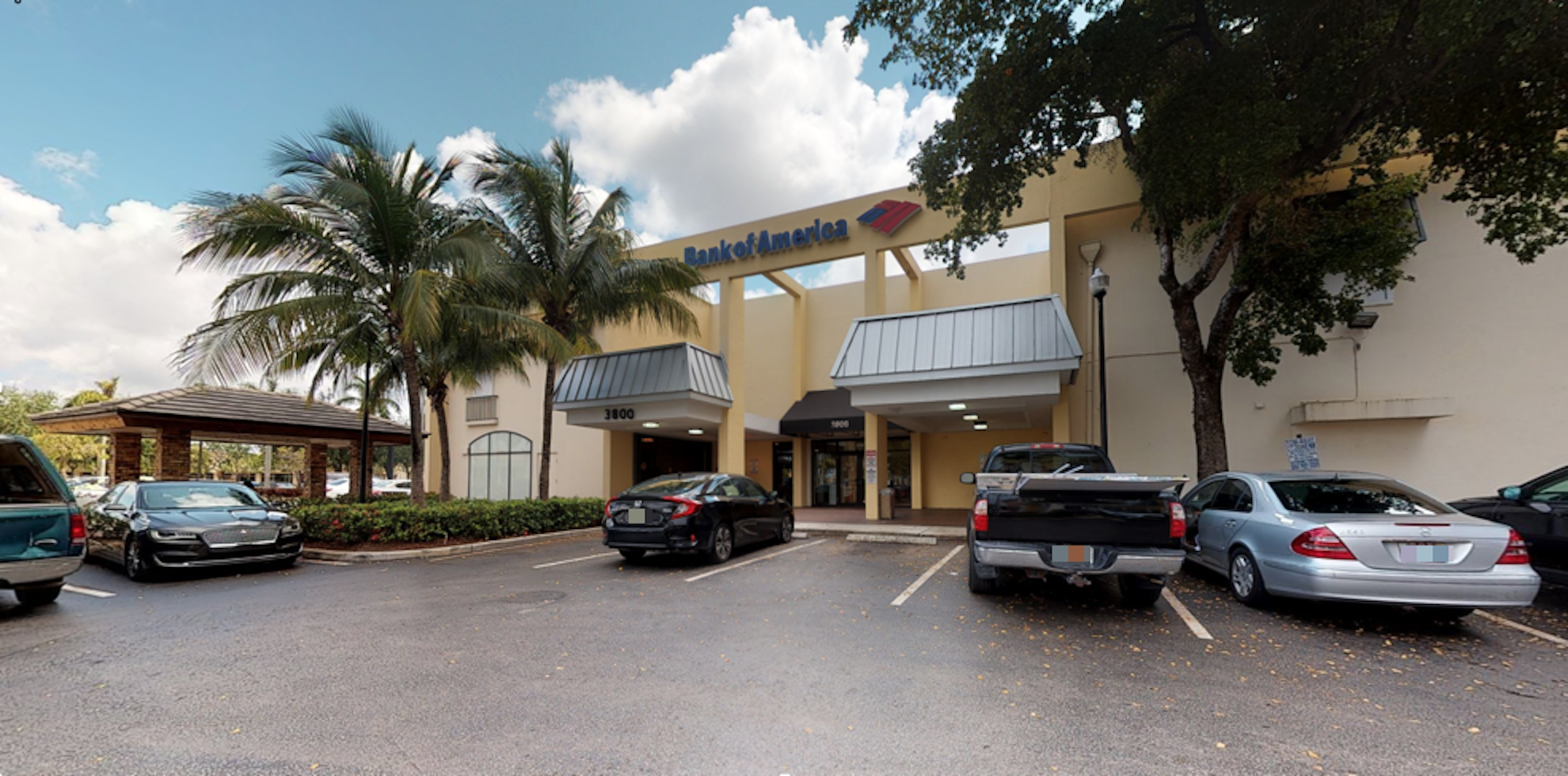 Bank of America financial center with drive-thru ATM   3800 W Broward Blvd, Fort Lauderdale, FL 33312