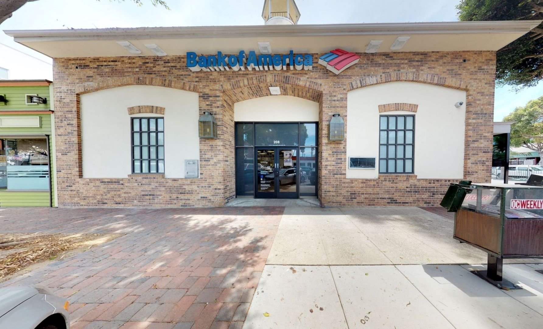 Bank of America financial center with walk-up ATM | 208 Main St, Seal Beach, CA 90740