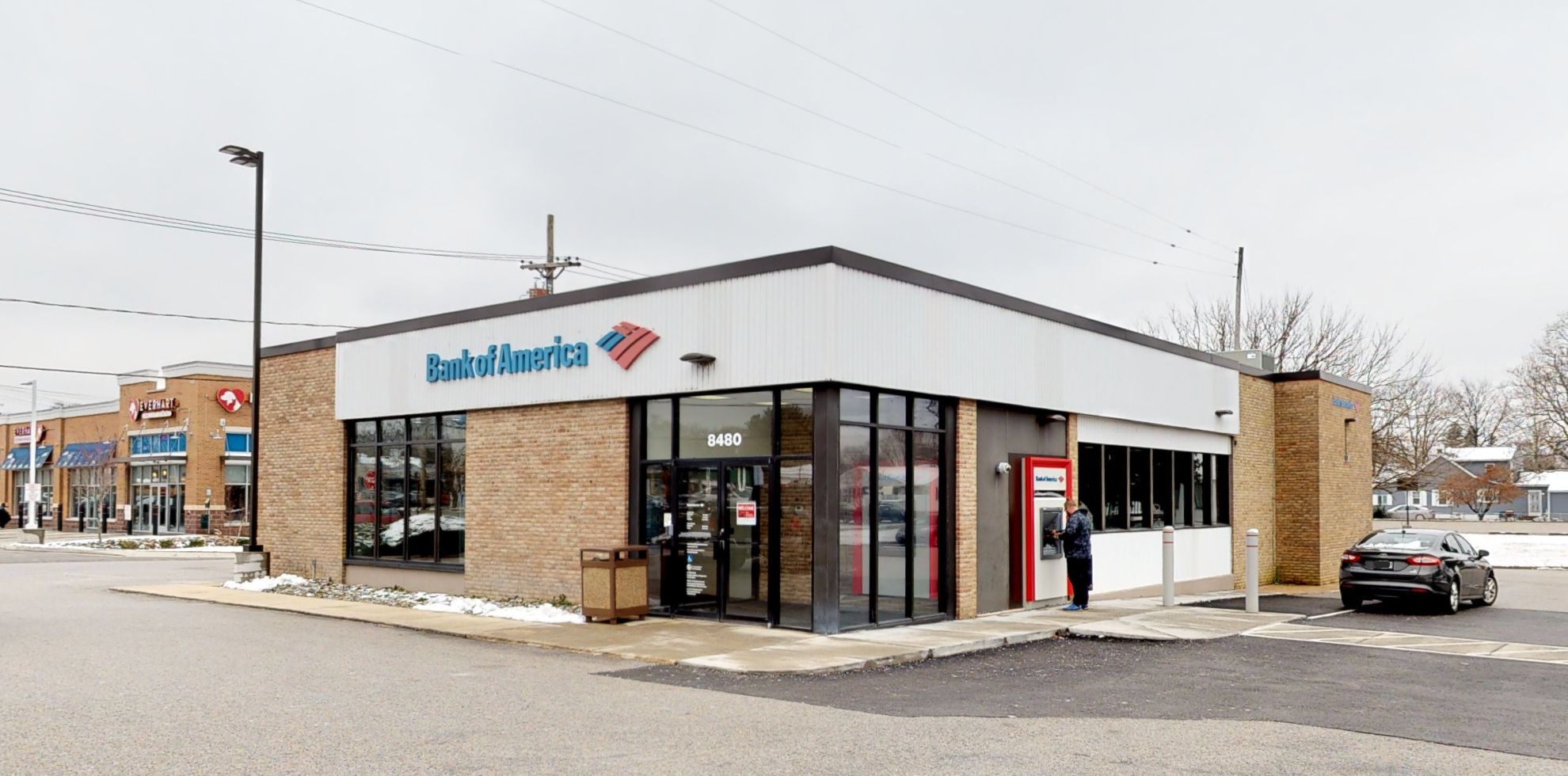 Bank of America financial center with walk-up ATM | 8480 Fort Smallwood Rd, Pasadena, MD 21122
