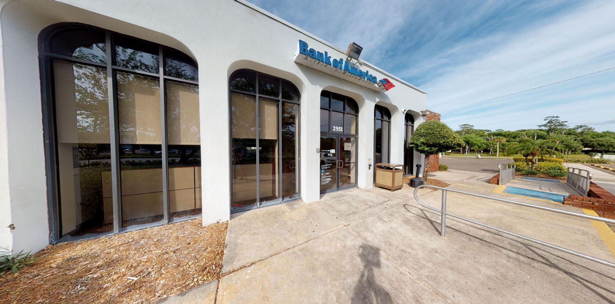 Bank of America financial center with drive-thru ATM | 2551 Tarpon Woods Blvd, Palm Harbor, FL 34685