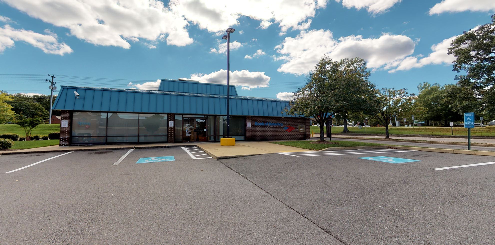Bank of America financial center with drive-thru ATM   9280 Old Keene Mill Rd, Burke, VA 22015