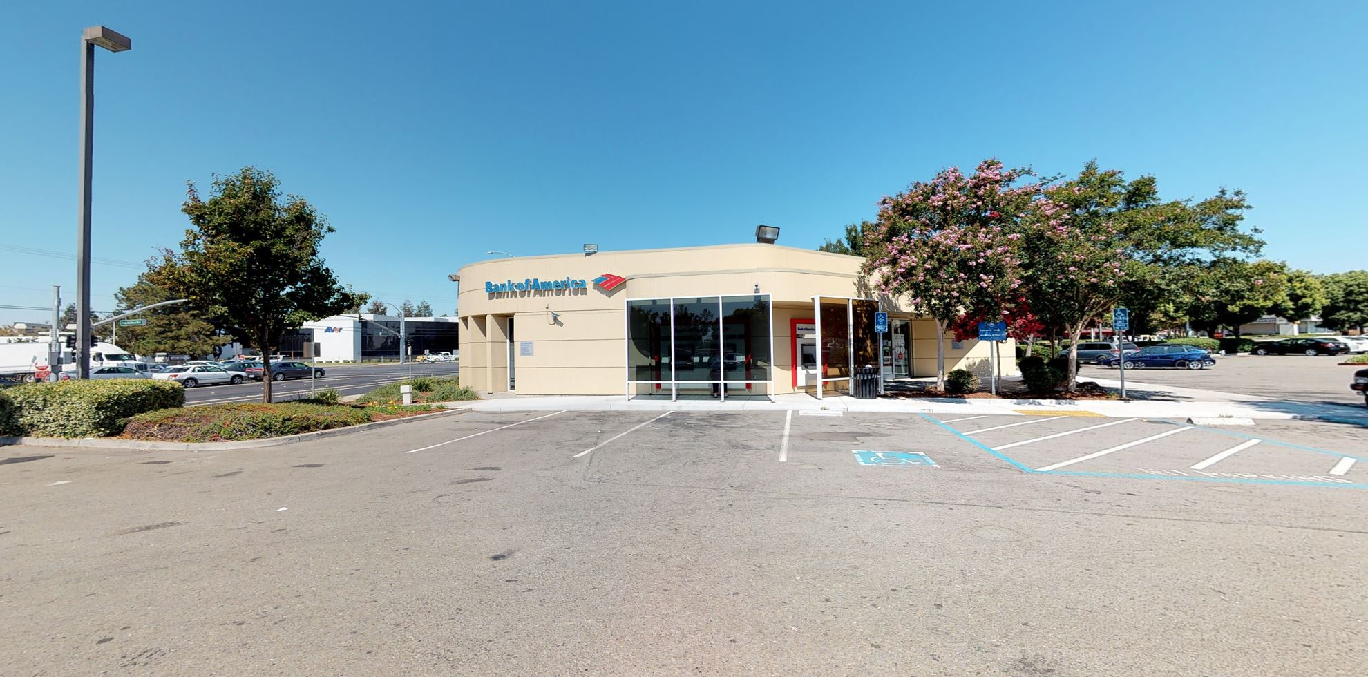 Bank of America financial center with walk-up ATM   46786 Mission Blvd, Fremont, CA 94539