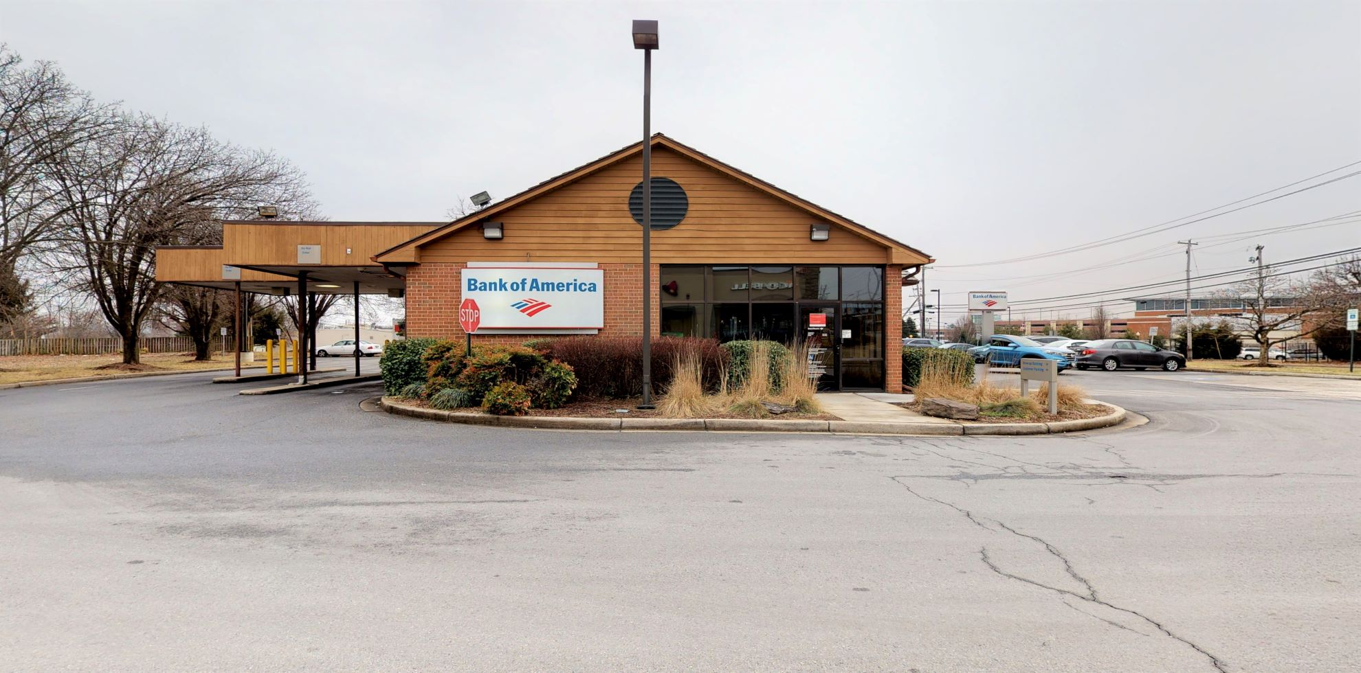 Bank of America financial center with drive-thru ATM | 805 W 7th St, Frederick, MD 21701