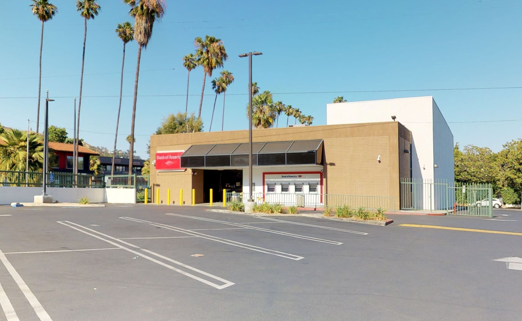 Bank of America financial center with walk-up ATM | 7800 W Sunset Blvd, Hollywood, CA 90046