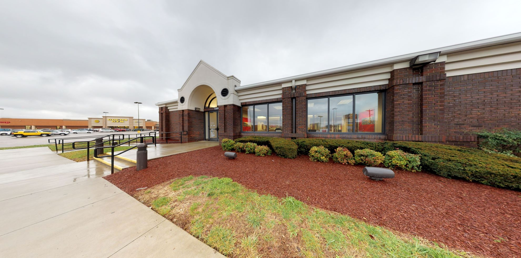 Bank of America financial center with drive-thru ATM   589 S Lowry St, Smyrna, TN 37167