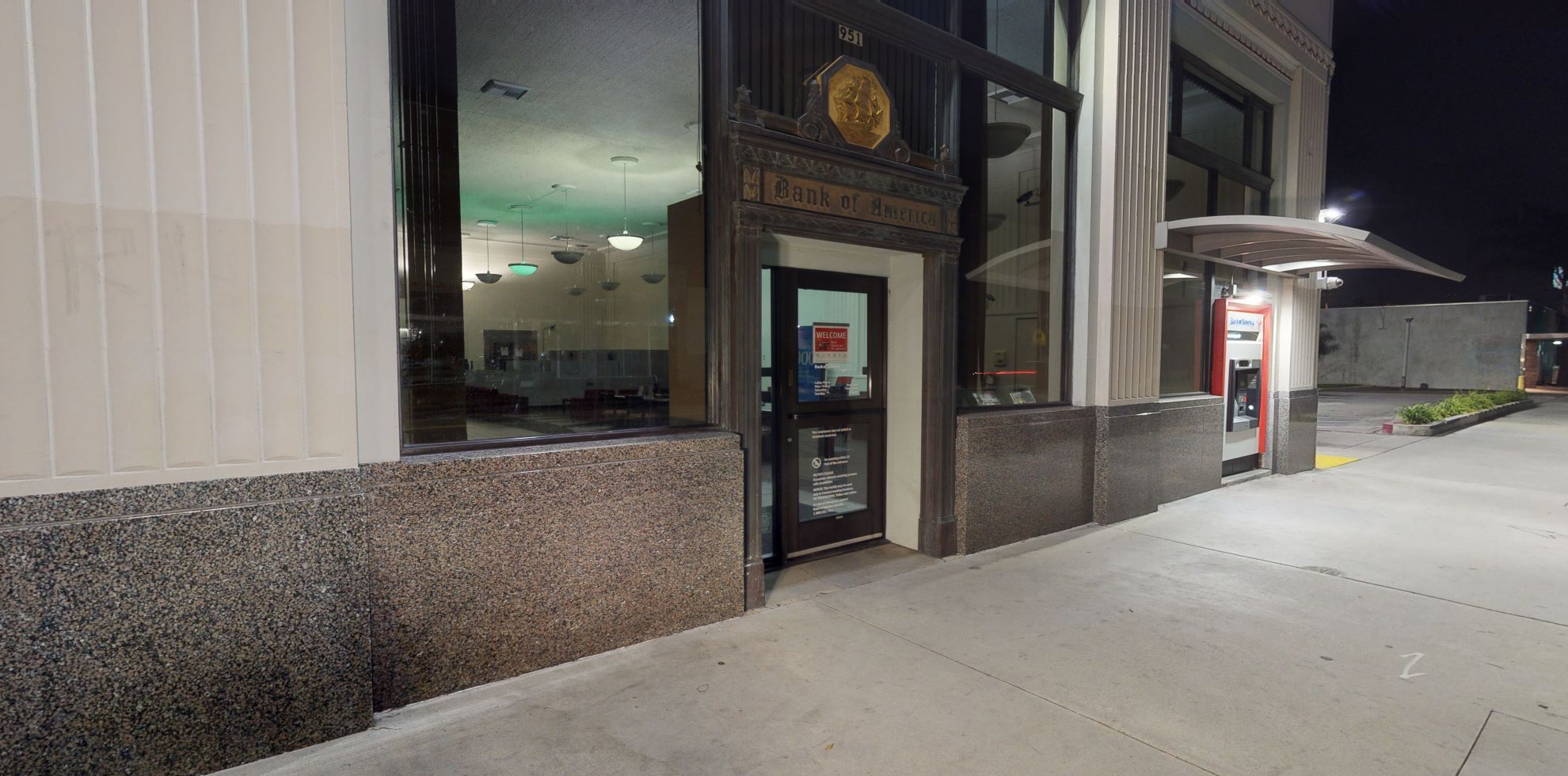 Bank of America financial center with walk-up ATM | 951 S Pacific Ave, San Pedro, CA 90731