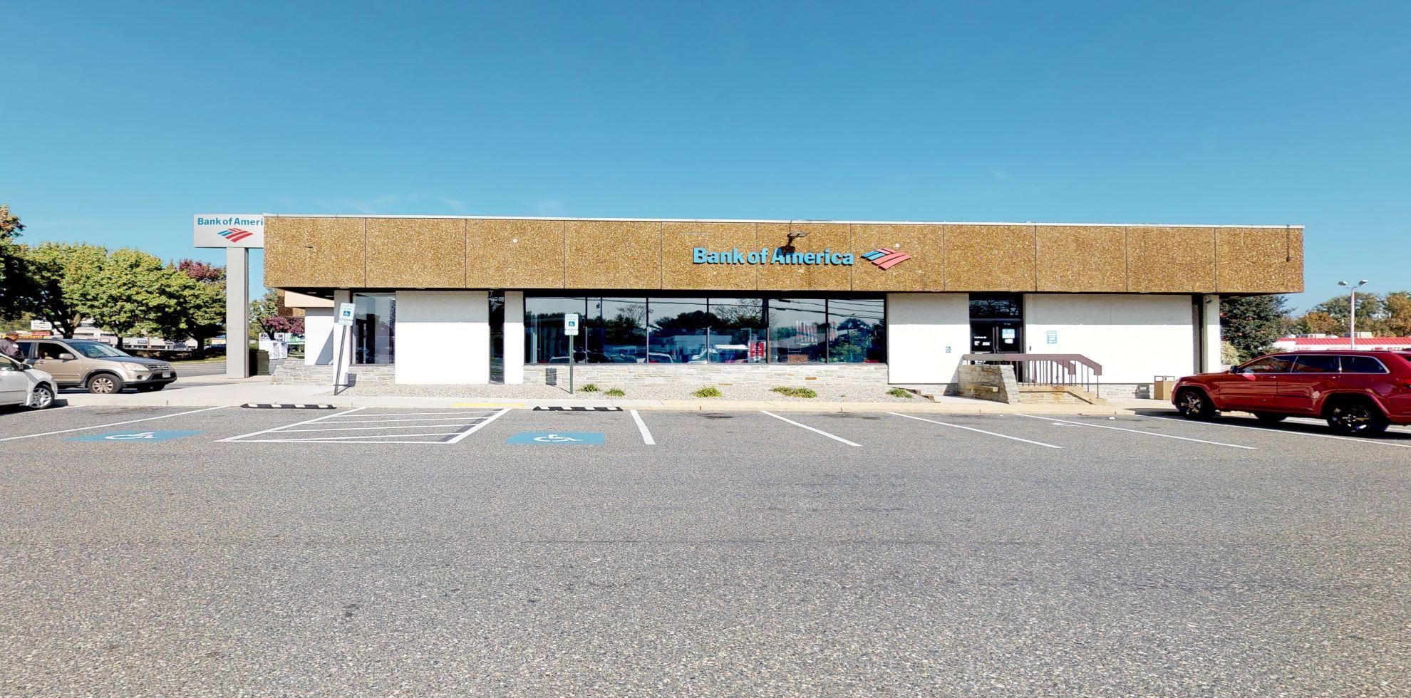 Bank of America financial center with drive-thru ATM | 350 Hospital Dr, Glen Burnie, MD 21061
