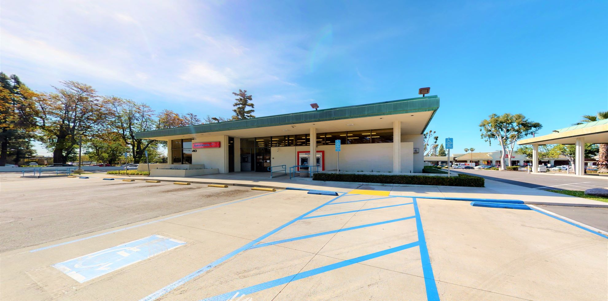 Bank of America financial center with drive-thru ATM   40 W Foothill Blvd, Upland, CA 91786