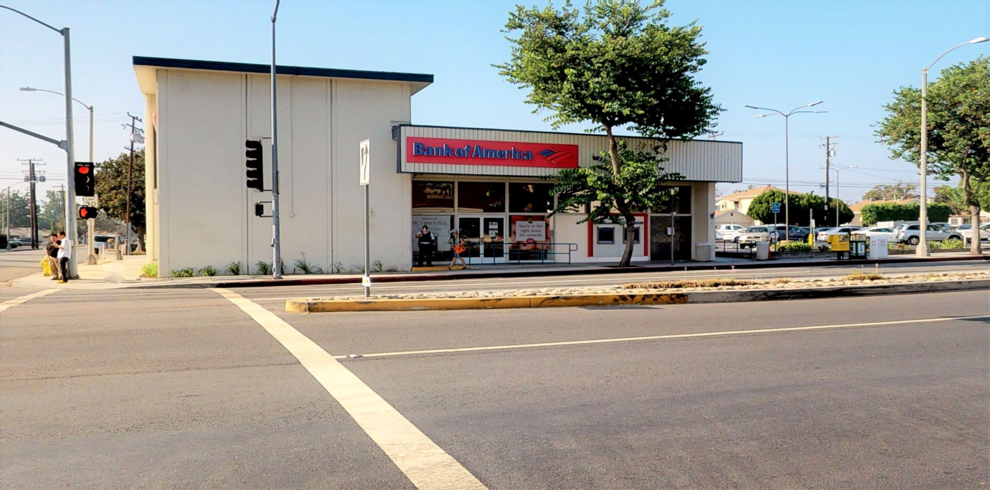 Bank of America financial center with walk-up ATM | 444 E Valley Blvd, Alhambra, CA 91801