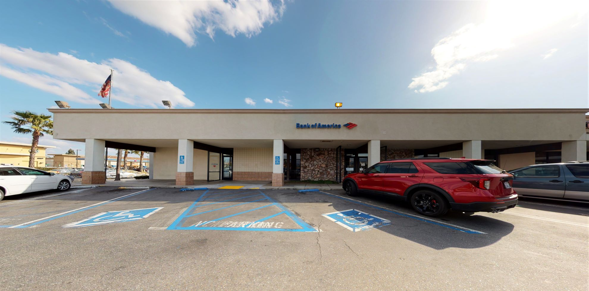 Bank of America financial center with walk-up ATM | 10048 Sierra Ave, Fontana, CA 92335
