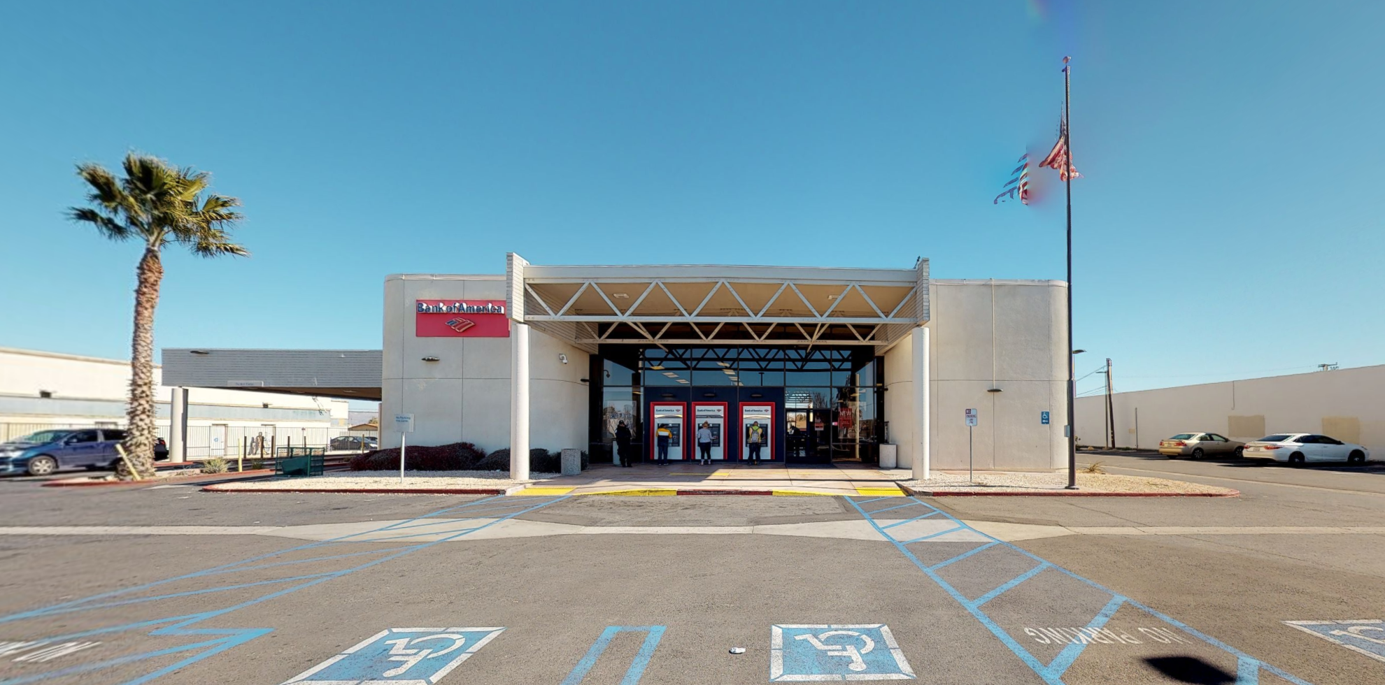 Bank of America financial center with drive-thru ATM | 14723 7th St, Victorville, CA 92395