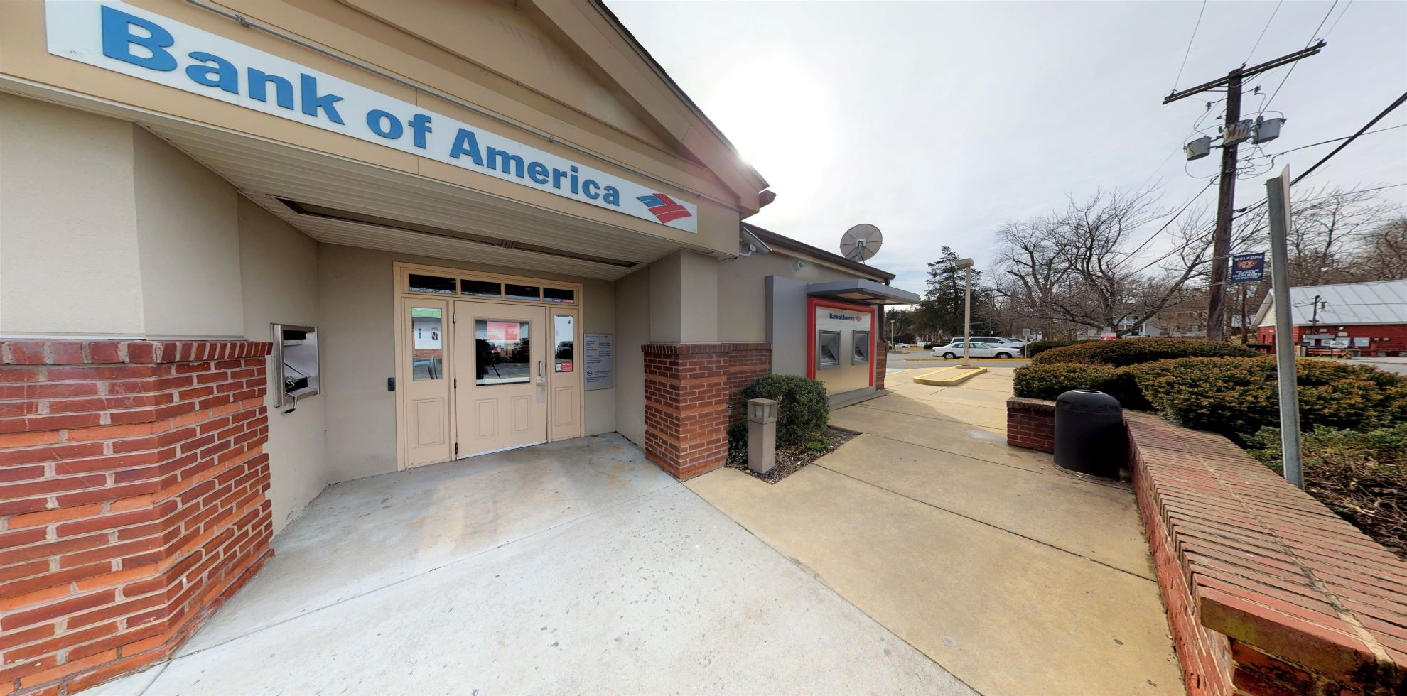 Bank of America financial center with walk-up ATM   14601 Church St, Upper Marlboro, MD 20772