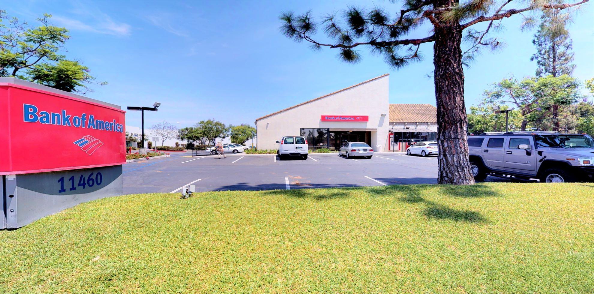 Bank of America financial center with drive-thru ATM   11460 Knott St, Garden Grove, CA 92841