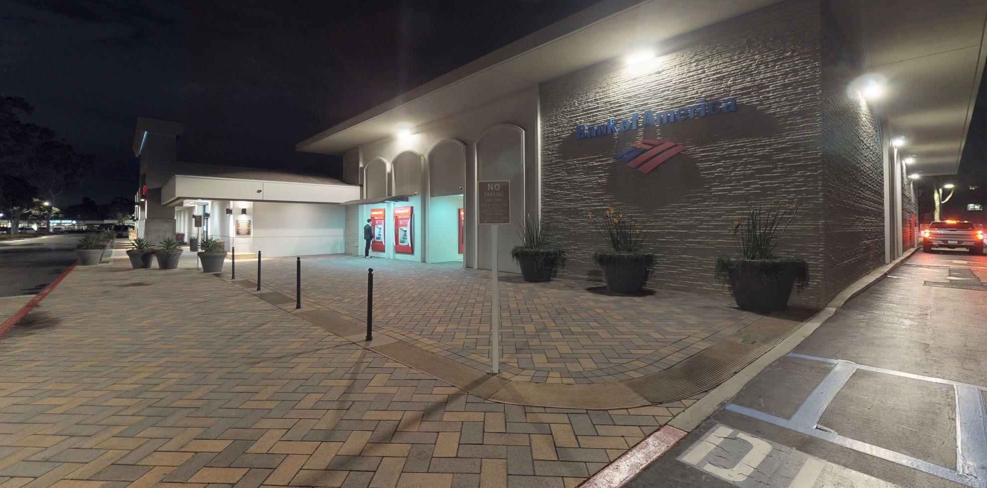 Bank of America financial center with drive-thru ATM   1016 Irvine Ave, Newport Beach, CA 92660