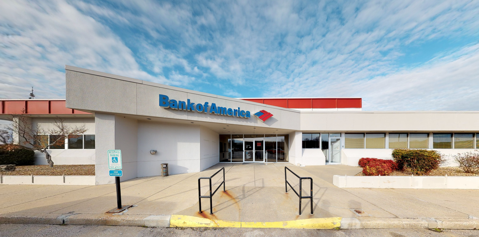 Bank of America financial center with drive-thru ATM | 710 W Sunshine St, Springfield, MO 65807