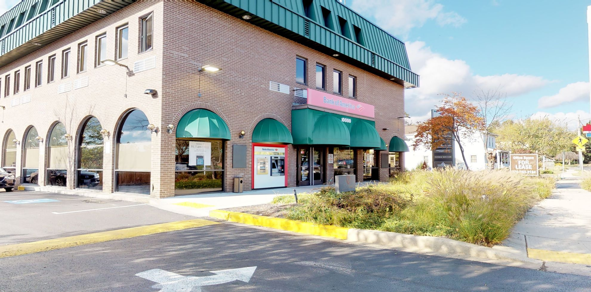 Bank of America financial center with walk-up ATM | 10000 Falls Rd, Potomac, MD 20854