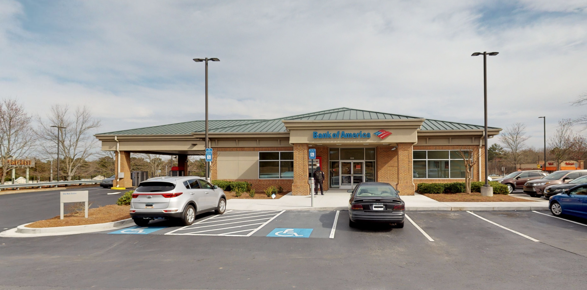Bank of America financial center with drive-thru ATM | 3141 Turner Hill Rd, Lithonia, GA 30038