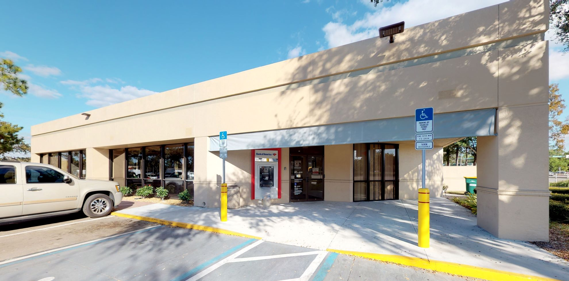 Bank of America financial center with drive-thru ATM | 7305 Radio Rd, Naples, FL 34104