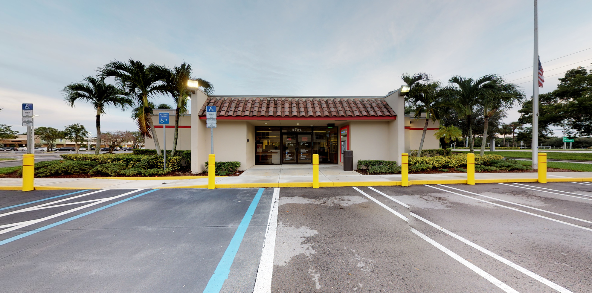 Bank of America financial center with drive-thru ATM   5504 S Flamingo Rd, Cooper City, FL 33330