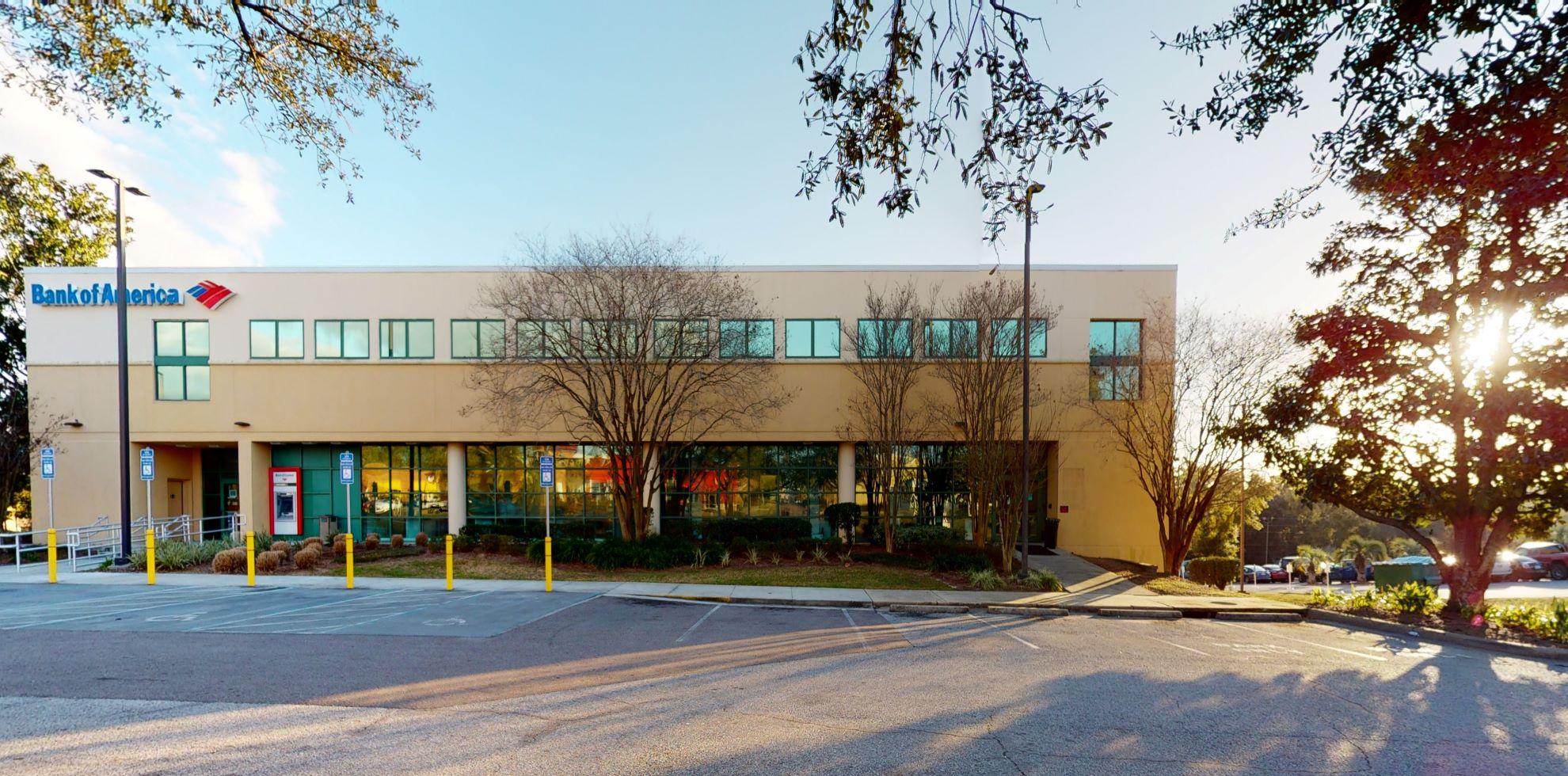 Bank of America financial center with drive-thru ATM   5041 Bayou Blvd, Pensacola, FL 32503