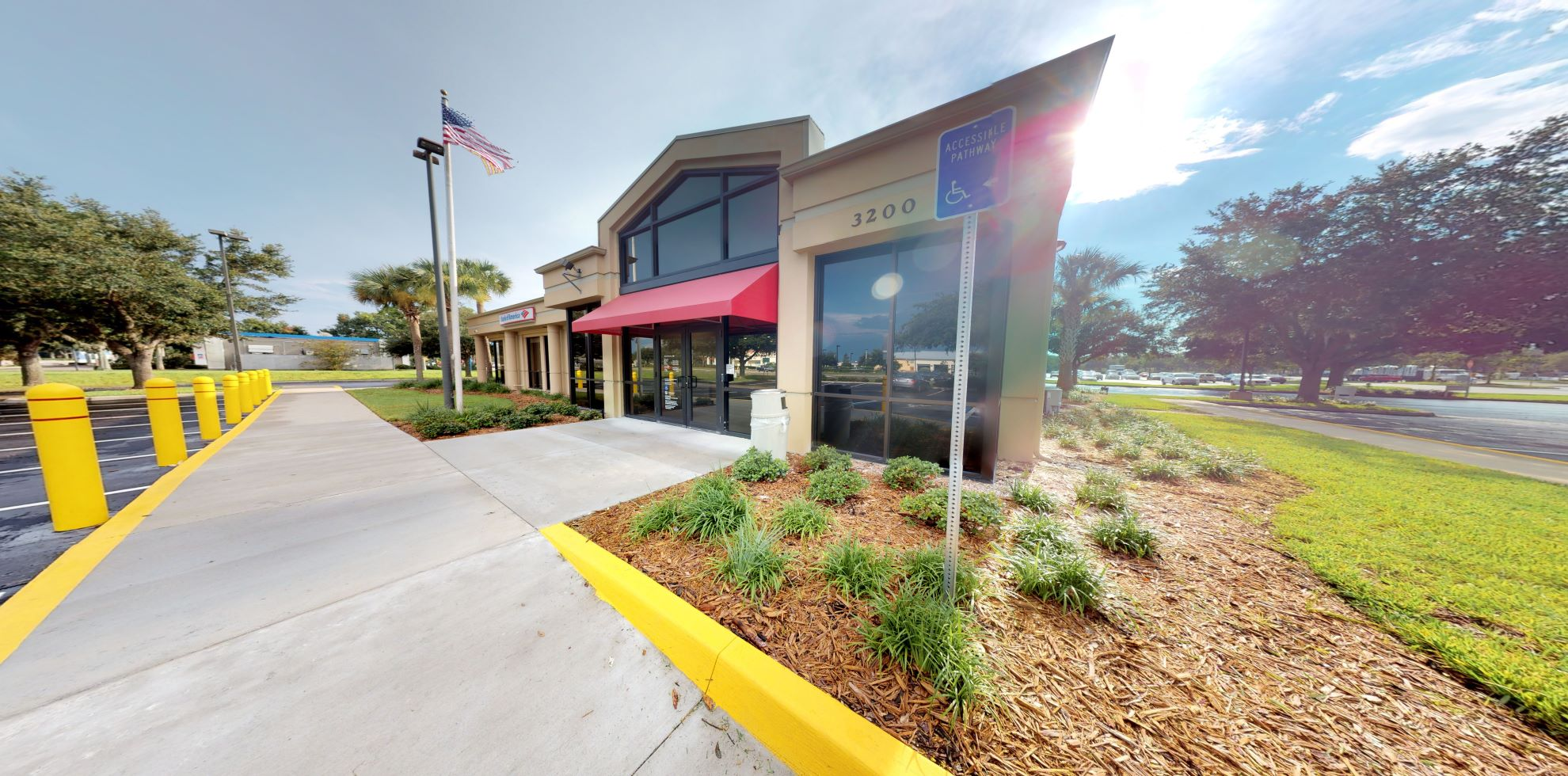 Bank of America financial center with drive-thru ATM and teller   3200 County Road 44B, Mount Dora, FL 32757