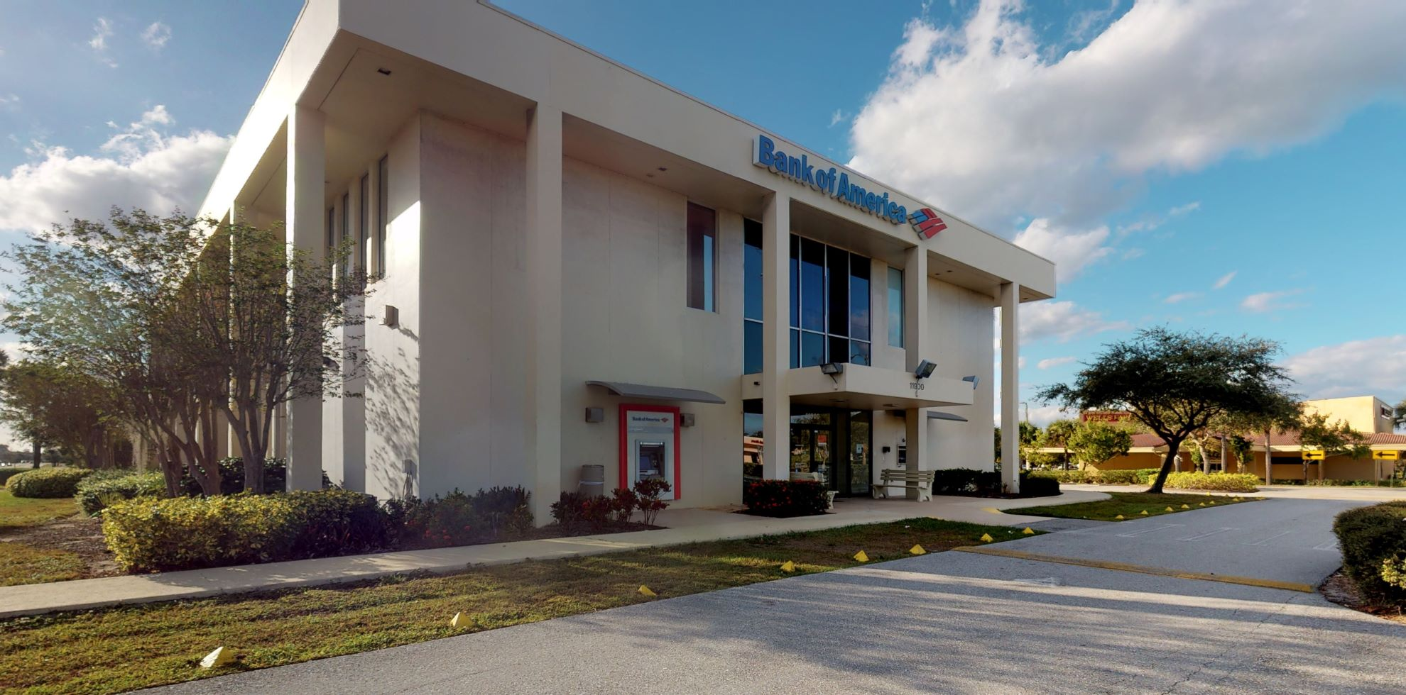 Bank of America financial center with drive-thru ATM   11900 SE Federal Hwy, Hobe Sound, FL 33455