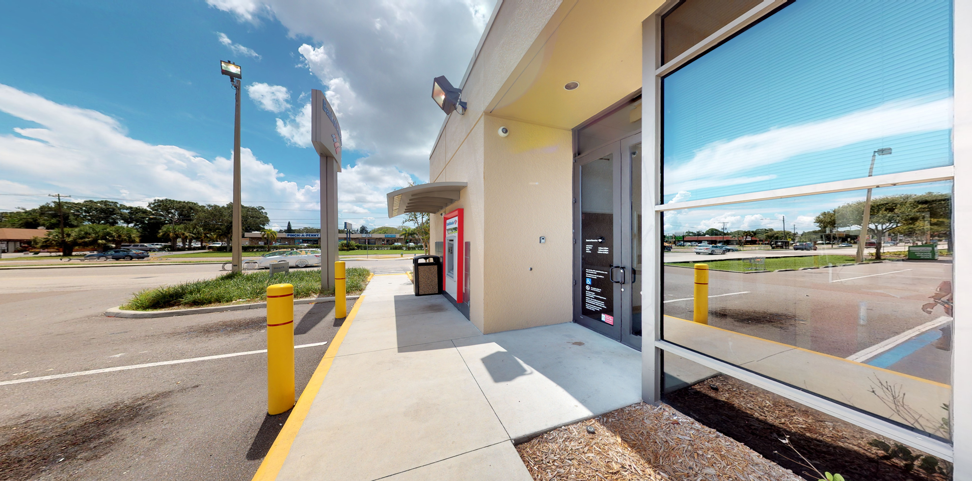 Bank of America financial center with drive-thru ATM and teller   1135 62nd Ave N, Saint Petersburg, FL 33702