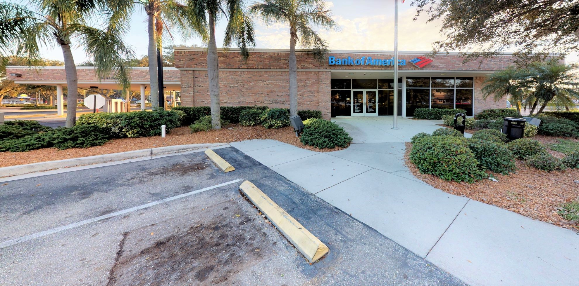 Bank of America financial center with drive-thru ATM and teller   1930 Tamiami Trl, Port Charlotte, FL 33948