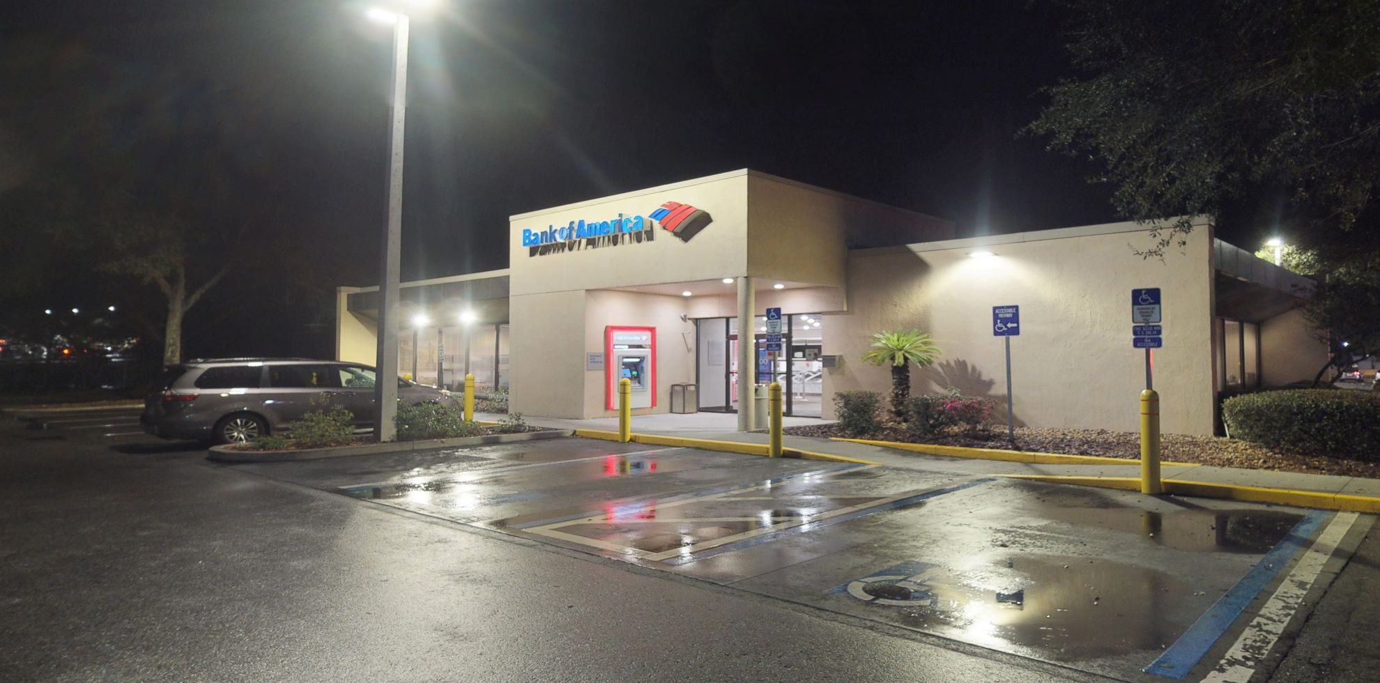 Bank of America financial center with drive-thru ATM and teller   7606 W Newberry Rd, Gainesville, FL 32606