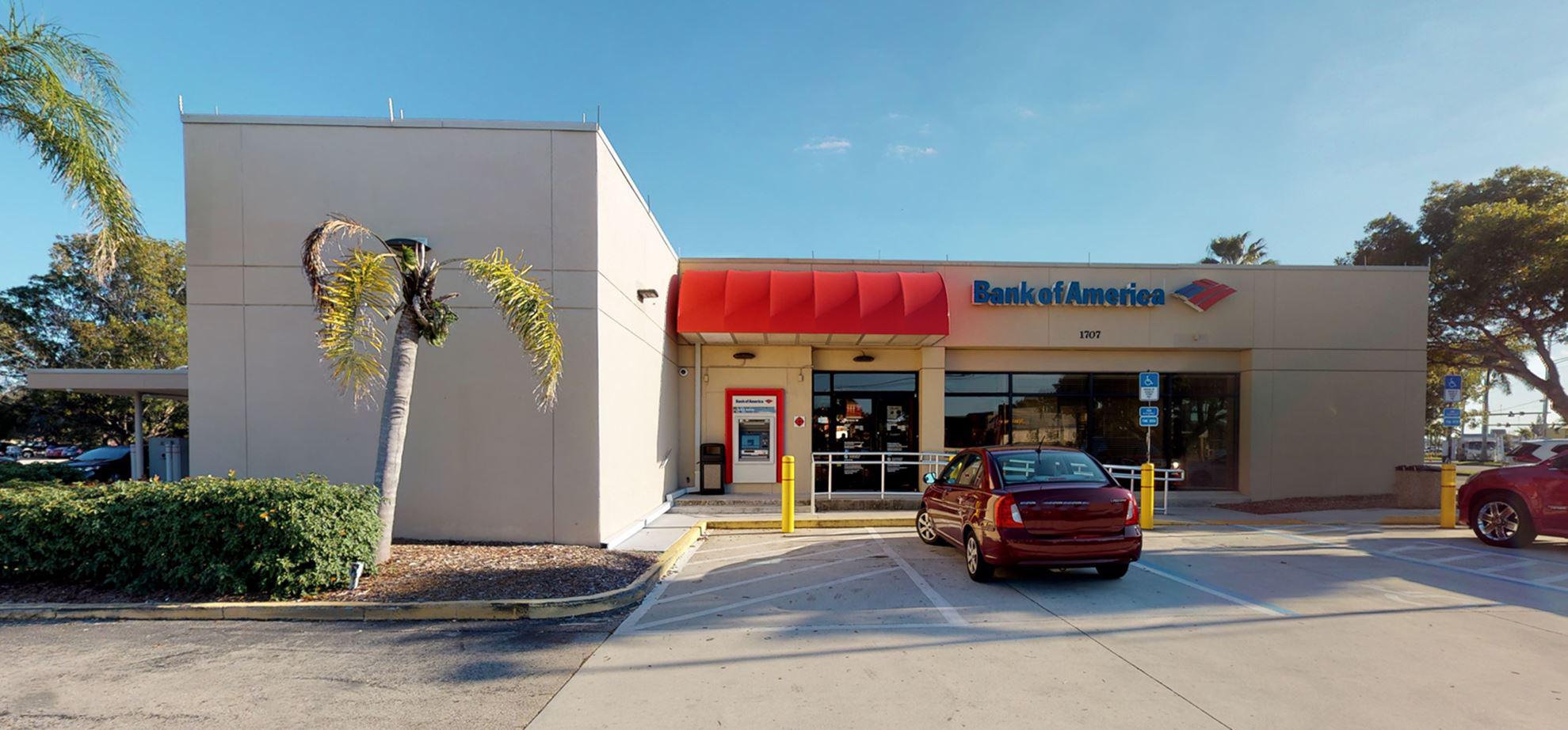 Bank of America financial center with drive-thru ATM   1707 Del Prado Blvd S, Cape Coral, FL 33990