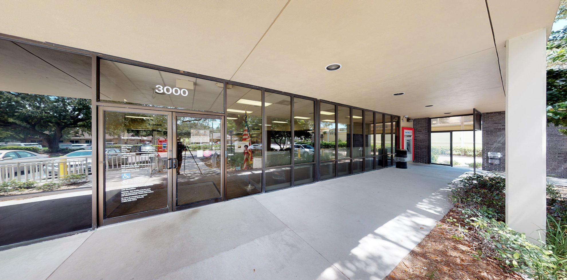 Bank of America financial center with drive-thru ATM   3000 Enterprise Rd E, Clearwater, FL 33759