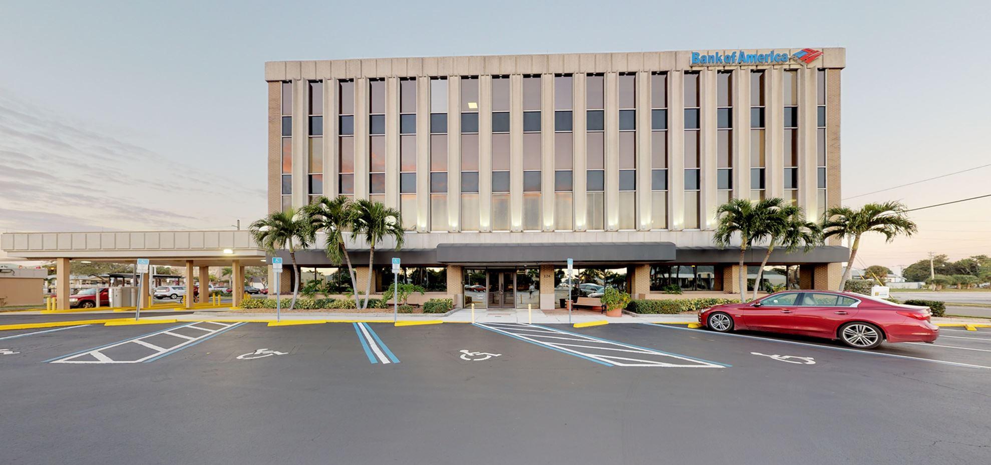 Bank of America financial center with drive-thru ATM | 126 E Olympia Ave, Punta Gorda, FL 33950